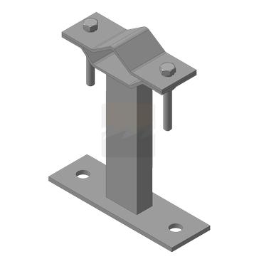 Кронштейн мачтовый (молниеприемный) 150 мм