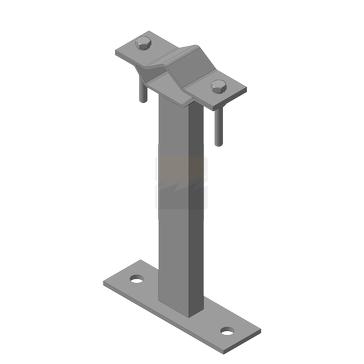 Кронштейн мачтовый (молниеприемный) 250 мм
