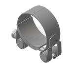Хомут для мачт (молниеприемный) Тип 3, нержавеющая сталь, 48-51мм