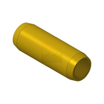 Муфта соединительная латунь 17,2 мм (3/4``)