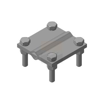 Зажим соединения (Тип N), нержавеющая сталь