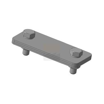 Зажим соединения ЗСП, оцинкованная сталь